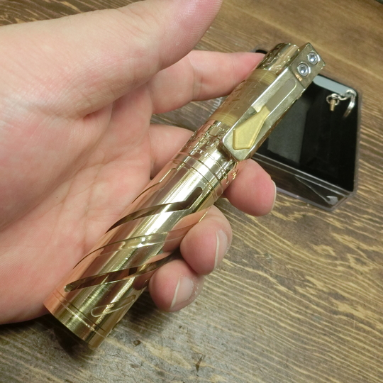 MCM SPIKE-V2 Brass +ExtentionTube